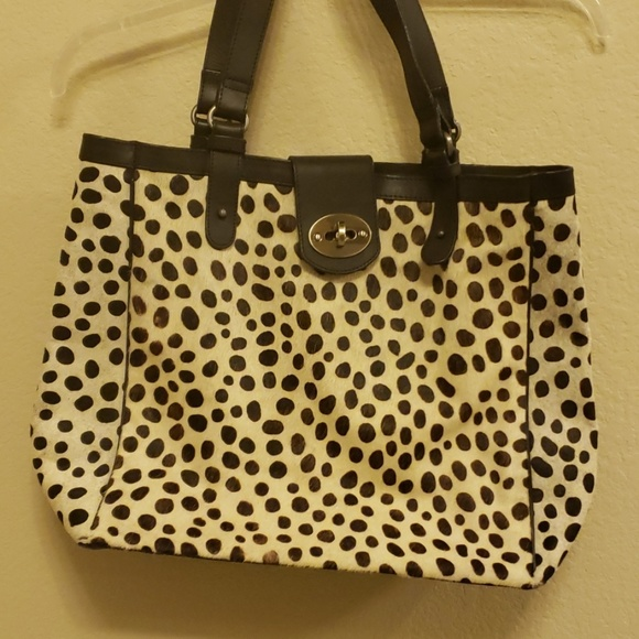Boden Handbags - Boden cow hide and leather tote